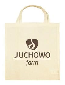 Torba bawełniana z nadrukiem Juchowo Farm