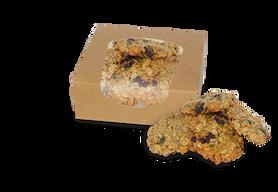 Ciastka owsiane BIO ze śliwką i pestkami dyni 125 g