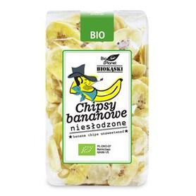 Chipsy Bananowe Niesłodzone BIO 150g