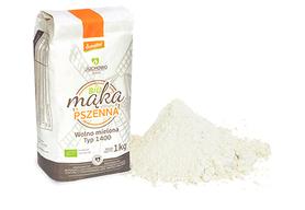 Mąka pszenna pełnoziarnista BIO Typ 1400 Demeter 1 kg