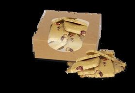 Ciastka orkiszowe BIO z żurawiną 250 g
