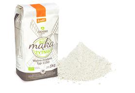 Mąka Żytnia Pełnoziarnista BIO Typ 1150 Demeter 1kg