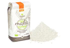 Mąka żytnia pełnoziarnista BIO Typ 2000 Demeter 1kg