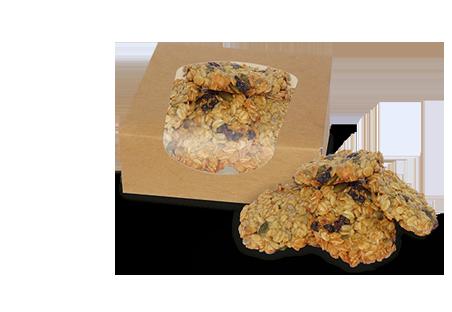 Ciastka owsiane BIO ze śliwką i pestkami dyni 125 g (1)