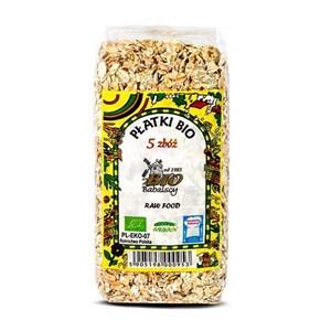 Płatki MIX 5 zbóż BIO 300 g  (1)