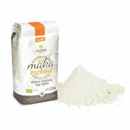Mąka pszenna pełnoziarnista BIO Typ 2000 Demeter 1 kg (1)